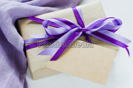 present or gift box and empty