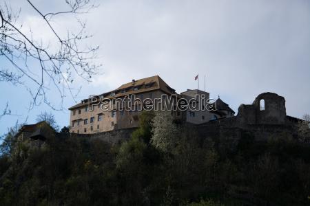 castle sonnenburg south tyrol italy