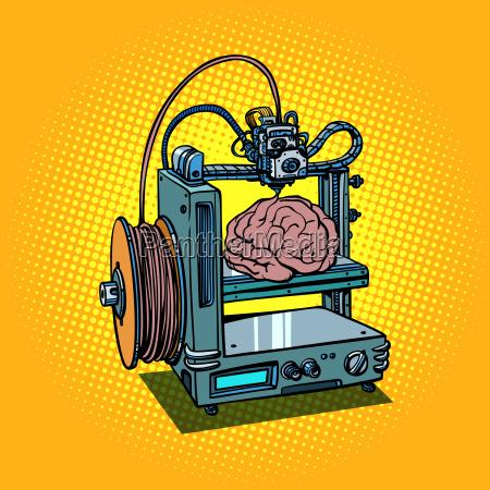 brain biotechnology medicine printing human organs