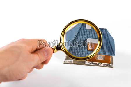 real estate inspection and valuation concept