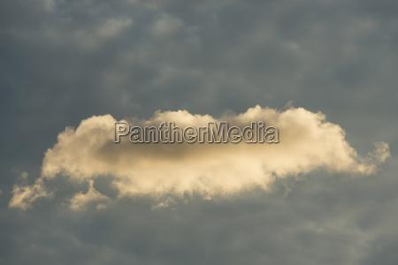 cumulus cloud against sky