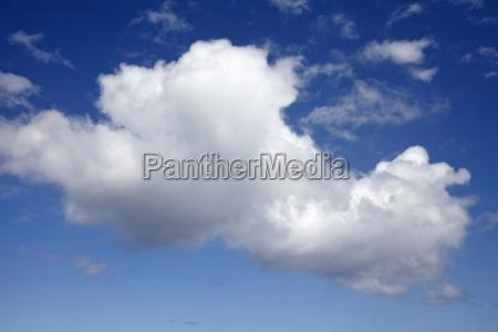 close up shot of cloud in