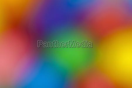 bright defocused colors of gumballs studio