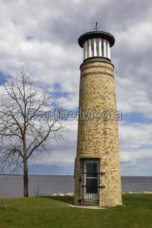 usa wisconsin oshkosh asylum point lighthouse