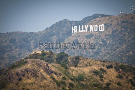 usa california los angeles hollywood sign