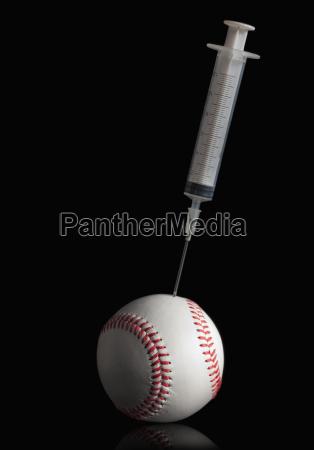 syringe in baseball