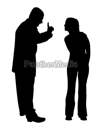 conflict between father and defiant teenage