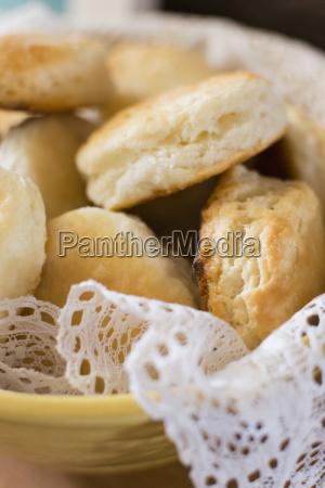 fresh homemade rolls
