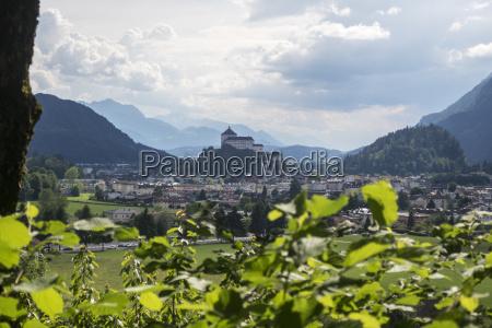 castle of kufstein in austria in