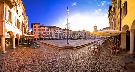 piazza san giacomo in udine sunset