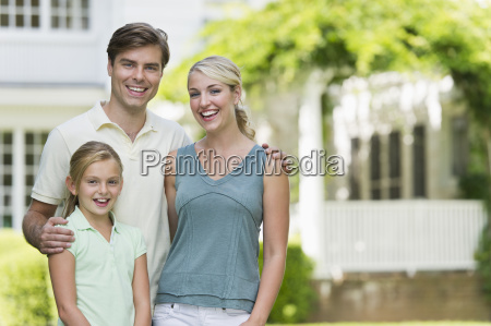 portrait of family with daughter 10