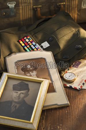 armed services memorabilia