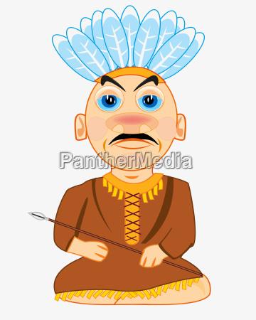 indian apache cartoon
