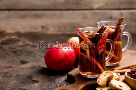 hot spicy beverage hot drink apple
