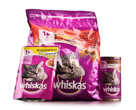 whiskas cat food products of mars
