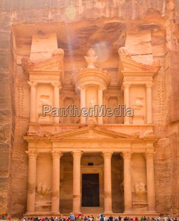 al khazneh the treasury ancient