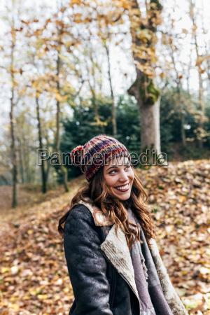 portrait of a beautiful happy woman