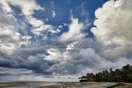 thailand ko yao yai clouds above