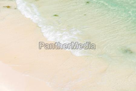 white sand beach andaman sea
