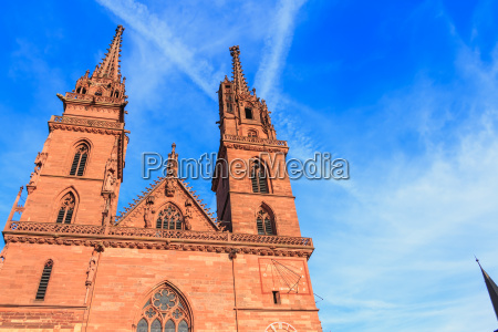 architectural detail of the protestant cathedral