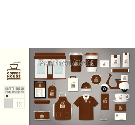 corporate identity template set 13 logo