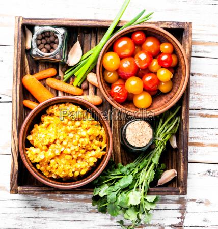 popular asian lentil food