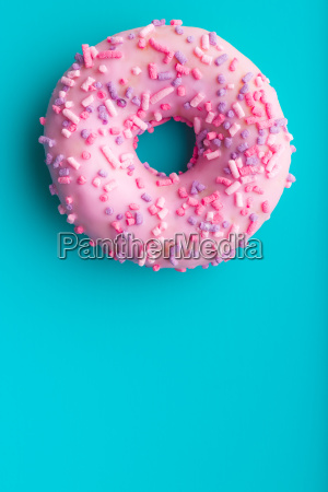 one pink donut