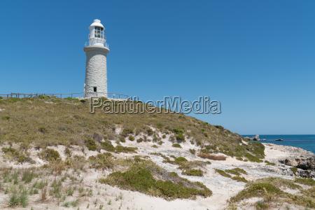 bathurst lighthouse on rottnest island western