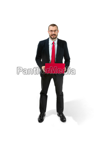 picture of handsome young bearded man