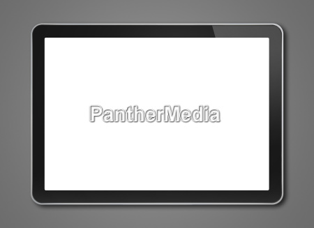 digital tablet pc smartphone template isolated