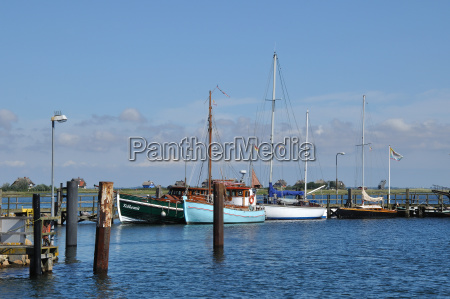 port in heiligenhafenbaltic sea