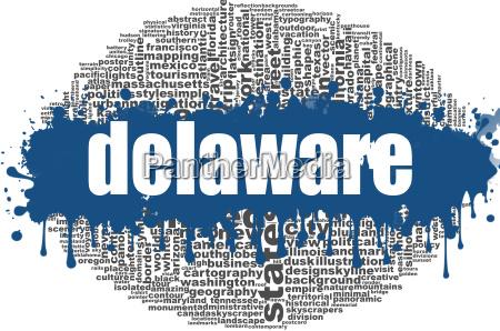 delaware word cloud design