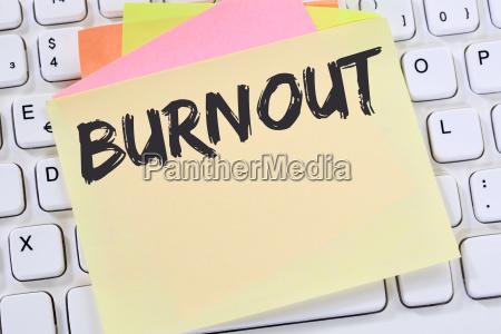 burnout sick sick in job stress