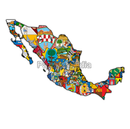 administration map of mexico