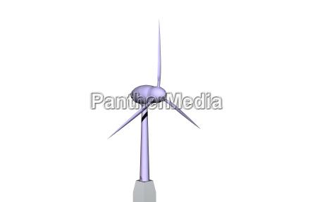 wind turbine for alternative energies