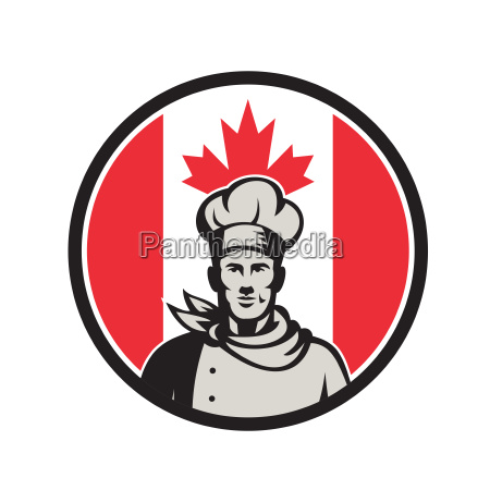canadian chef baker canada flag icon