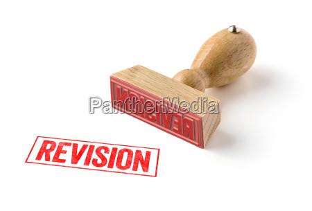 timestamp revision
