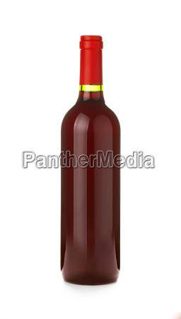 one full bottle of red wine
