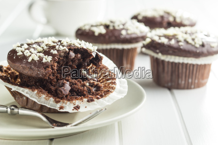 tasty chocolate muffins