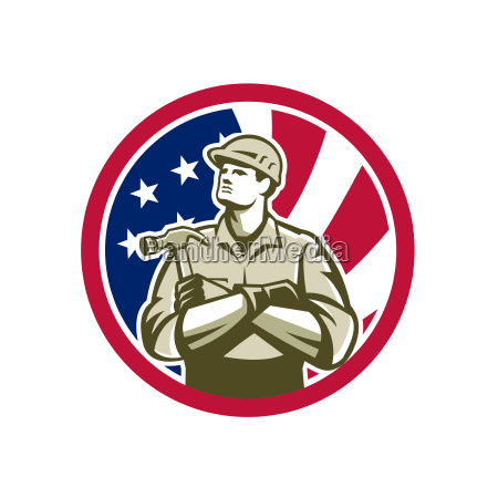 american carpenter usa flag icon