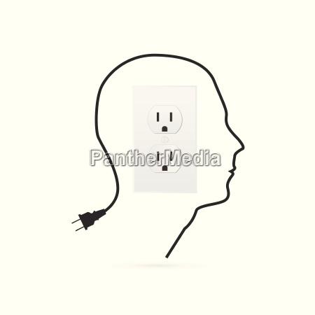 power outlet illustration