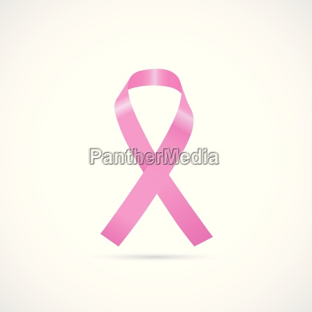 cancer awareness ribbon illustration