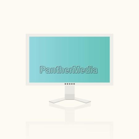 computer screen illustration