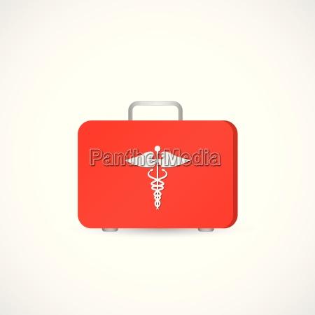 first aid kit illustration