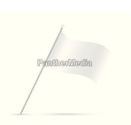 white flag illustration
