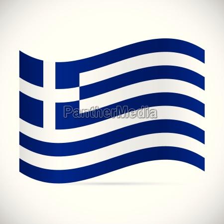 greece flag illustration
