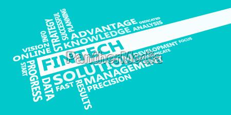 fintech presentation background