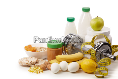 sports nutrition and fitness equipment