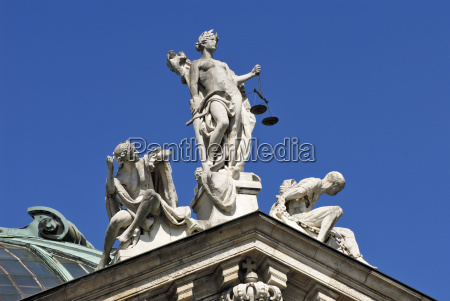 buildings art statue sculpture bavaria sightseeing