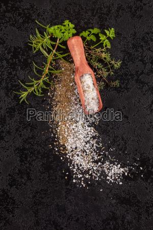herbal sea salt